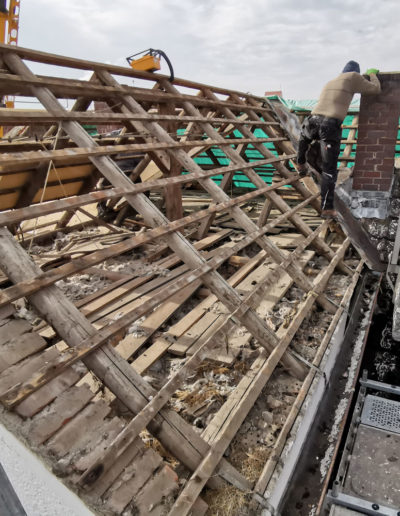Dachsanierung Hofbauer Holzbau