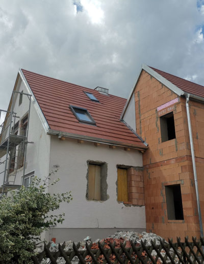 Hausanbau Dachdeckung Sanierung Zimmerer